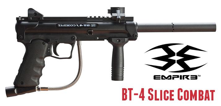 Markery Empire BT-4 Slice Combat, jest to marker na każde, nawet najcięższe warunki tzw. Kałasznikow wśród markerów paintballowych. Nigdy was nie zawiedzie!