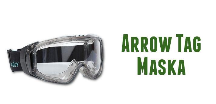 Maska Ochronna Arrow Tag, maska ochronna do gry w Arrow Tag.