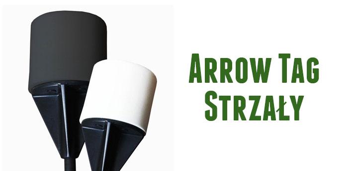 Strzały Arrow Tag, specjalnie zaprojektowany strzały do gry w Arrow Tag, zakończone specjalną aerodynamiczną pianką.